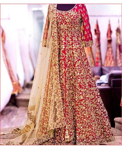Ethnic Bridal Gown Dess