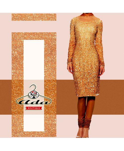Golden Shimmer Suit