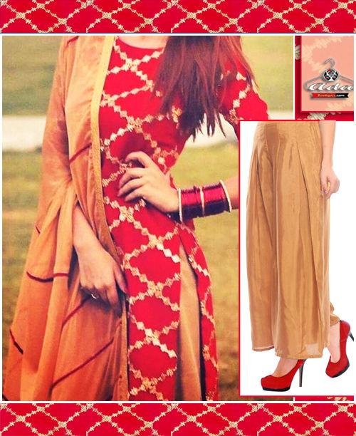 Red/Golden Dress
