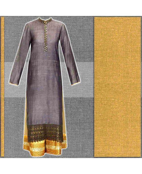 Stylish Grey /Beige Dress
