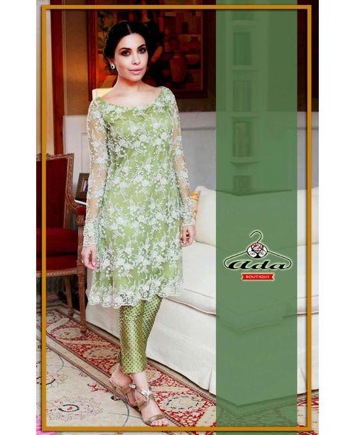 Soothing Mehendi Green Dress