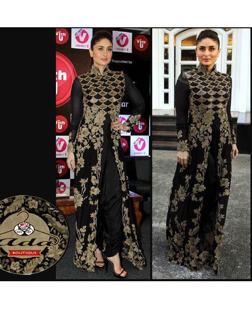 Kareena Black Dress