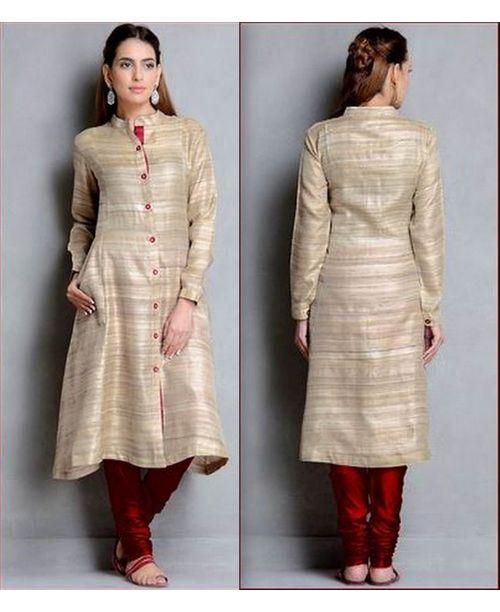 Stylish Khadi Dress
