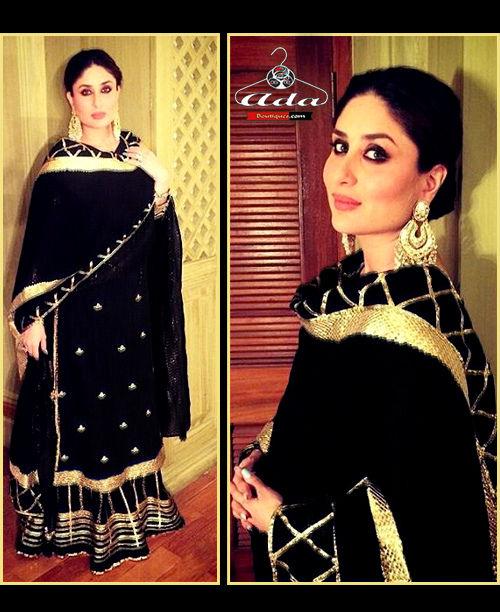 Supreme Quality Kareena Black Dress
