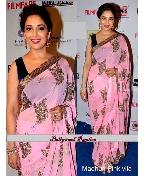 Stunning Madhuri Dixit Saree