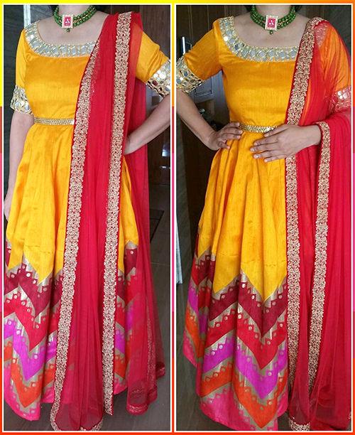 Anarkali Gown Dress