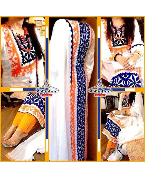 Trendy Applique Dress