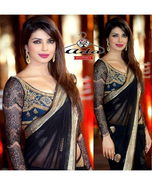 Sizzling Priyanka Chopra Sari