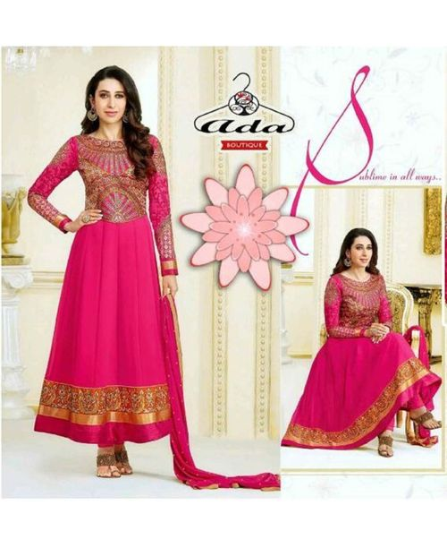 Karishma Pink Anarkali Dress