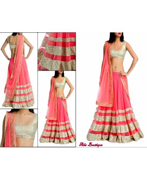 Trendy Pink Lehenga