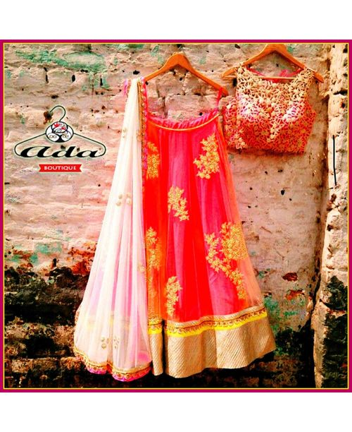 Sizzling Pink Lehenga Dress