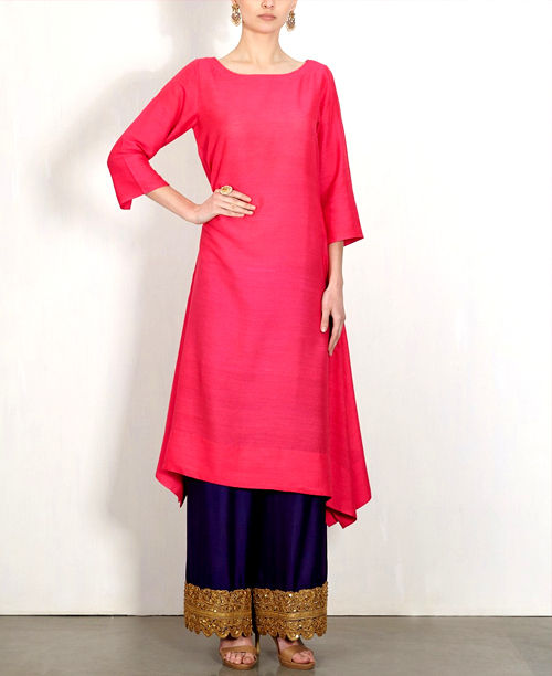 Trendy Pink/Blue Dress
