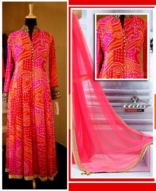 Ethnic Pink Dress