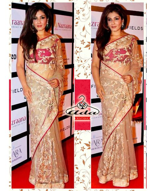 Ravishing Raveena Ethnic Saree