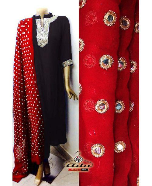 Sizzling Red/Black Dress