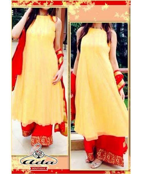 Stylish Red /Lemon Dress