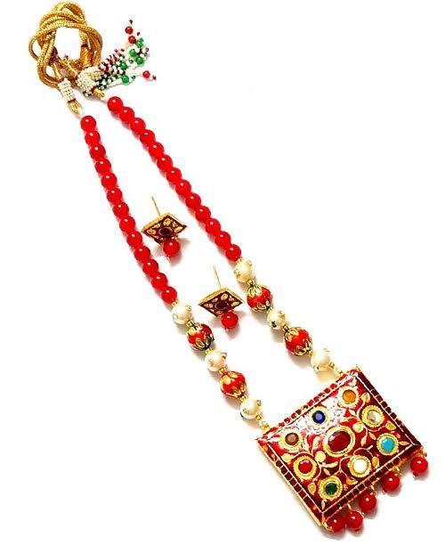 Red Maharani Style Set