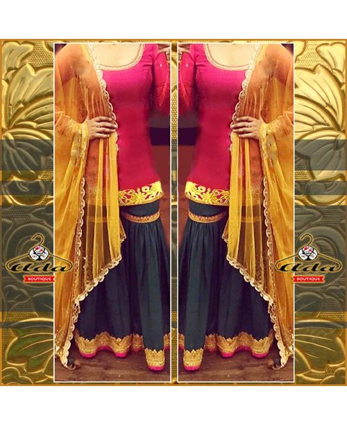 Ethnic Sharara Dress
