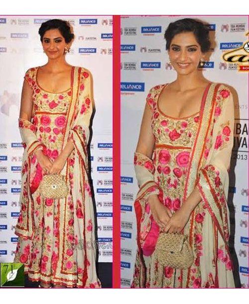 Sizzling Sonam Anarkali Dress