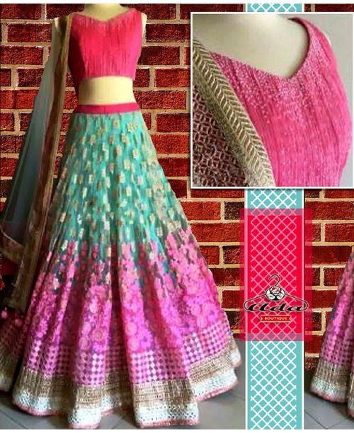 Summer Cool Lehenga Dress