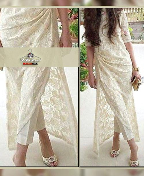 Cool White Dress
