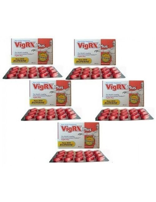 Vigrx Plus Five  Box USA imported
