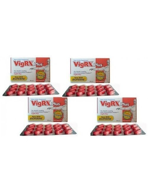 Vigrx Plus Four Box USA imported