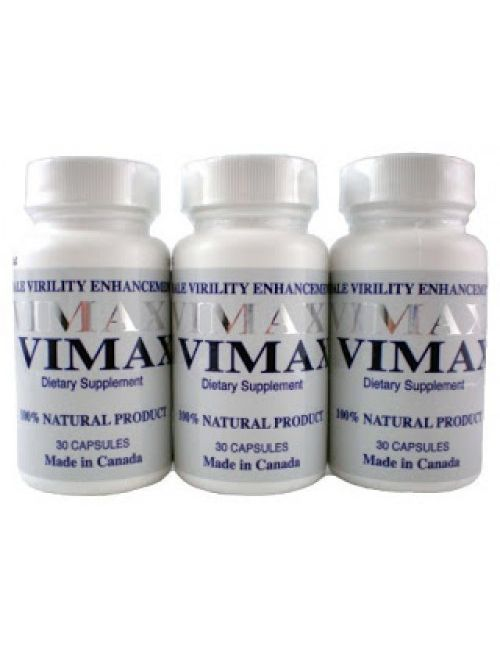 Vimax Pills Three Bottle made in Canada