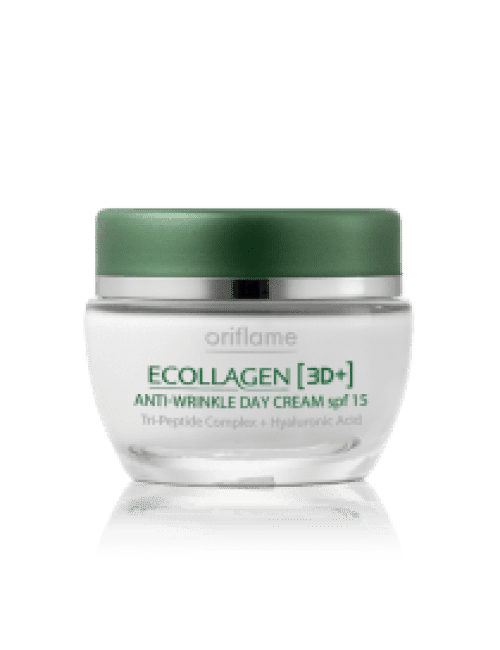 Oriflame Ecollagen 3D Anti-Wrinkle Day Cream Code:20196