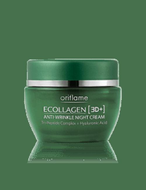 Oriflame Ecollagen 3D Anti Wrinkle Night Cream Code:20213