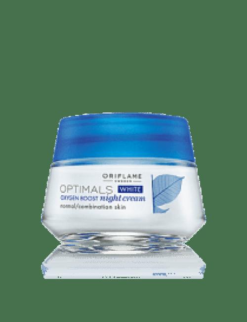 Oriflame Optimals White Oxygen Boost Night Cream 50ml Code:26841