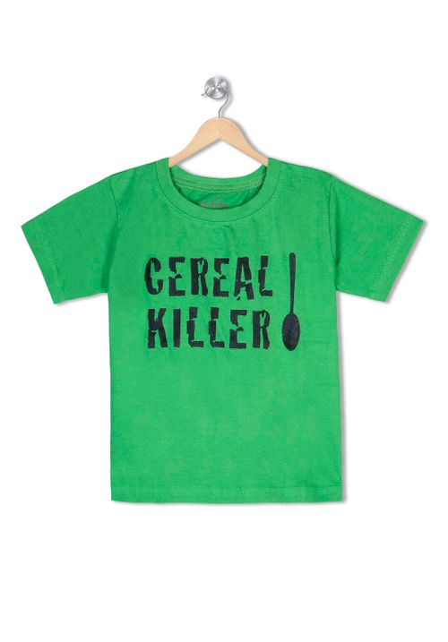 Cereal Killer - Organic cotton tee for toddlers