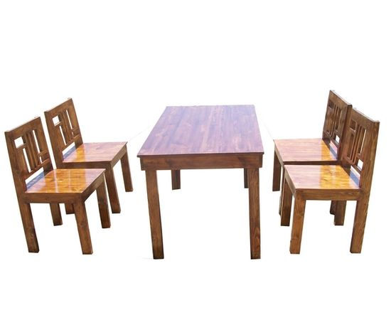 mesmer 4 seater dining set