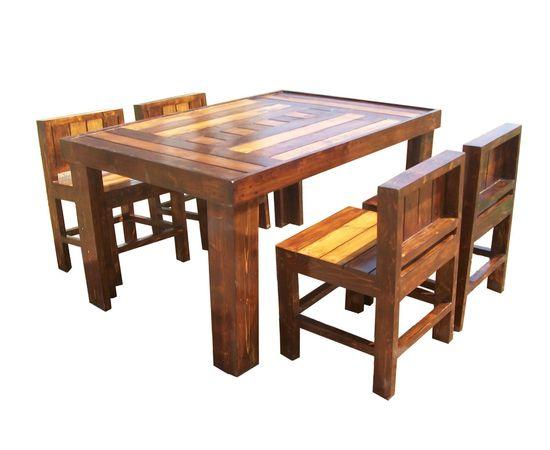 Zoom · Riga   4 Seater Designer Dining Set