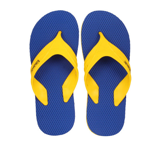 BAHAMAS BLUE/YELLOW GENTS CASUALS  SLIPPERS_BHG-41