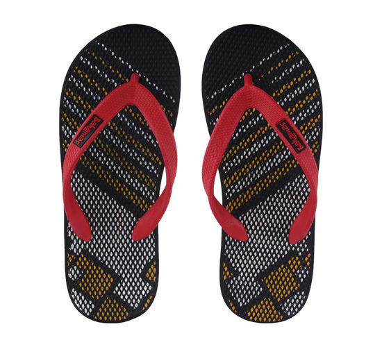 BAHAMAS BLACK/RED GENTS CASUALS  SLIPPERS_BHG-46