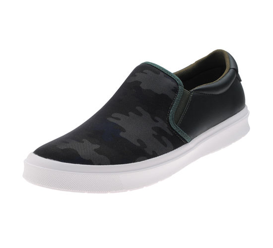 BOSTON NAVY/OLIVE GENTS CASUALS  SHOES_BM-1006