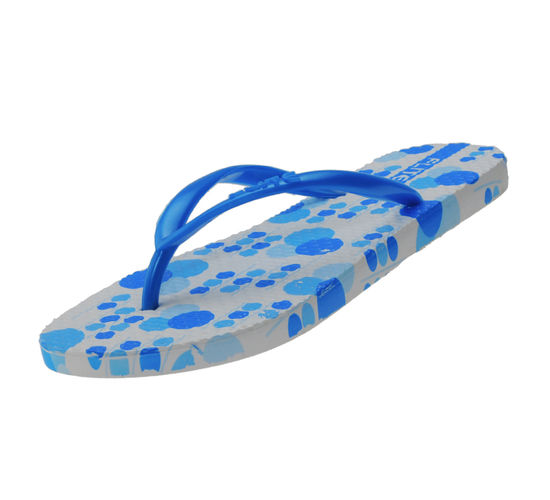 FLITE WHITE/BLUE LADIES HOMEUSE  SLIPPERS_FL-251
