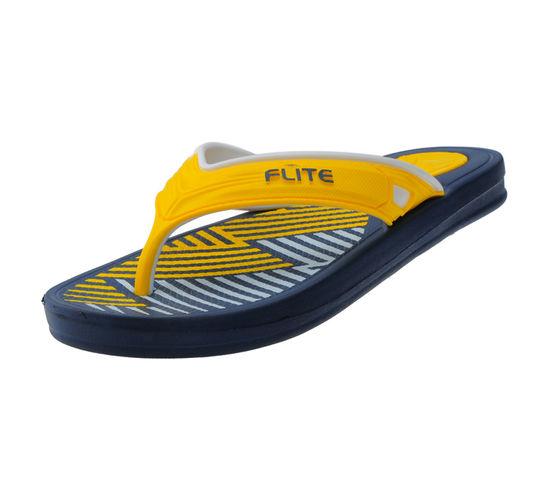 FLITE NAVY/YELLOW GENTS FORMALS  SLIPPERS_FL-273