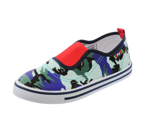 KIDSFUN NAVY/RED KIDS CASUALS  SHOES_KF215