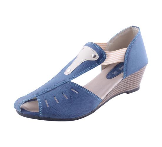 MARYJANE BLUE LADIES FORMALS  SANDALS_MJ-1143