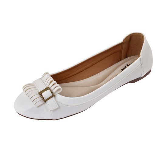 MARYJANE WHITE LADIES FORMALS  SHOES_MJ-636