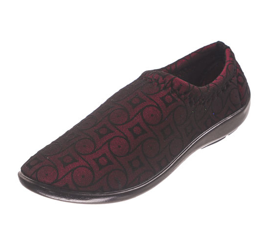 PU- FLITE MAROON LADIES CASUALS  SHOES_PUB-06