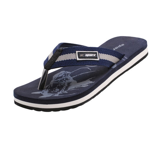 SPARX BLUE GENTS CASUALS SLIPPERS_SFG-1035