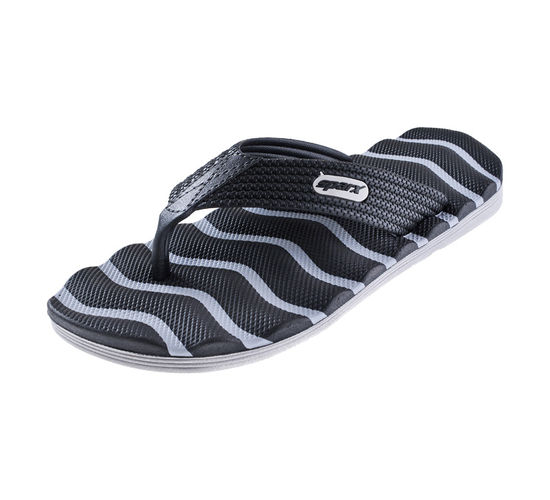 SPARX GREY/BLACK GENTS CASUALS SLIPPERS_SFG-2009