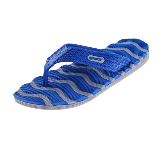 SPARX GRY/R.BLUE GENTS CASUALS SLIPPERS_SFG-2009