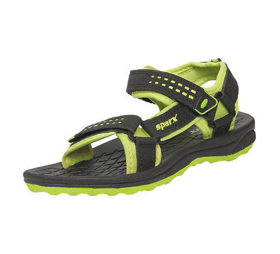 SPARX GREEN KIDS CASUALS SANDALS_SFK-516