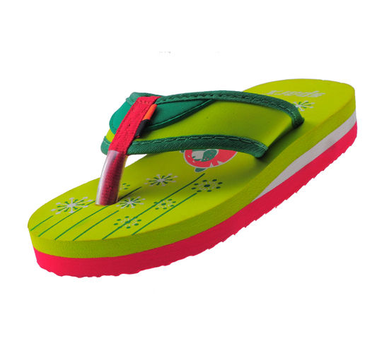 SPARX F.GREEN KIDS CASUALS  SLIPPERS_SFK-522