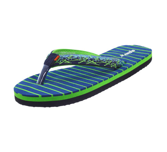 SPARX NAVY/GREEN LADIES CASUALS SLIPPERS_SFL-1140