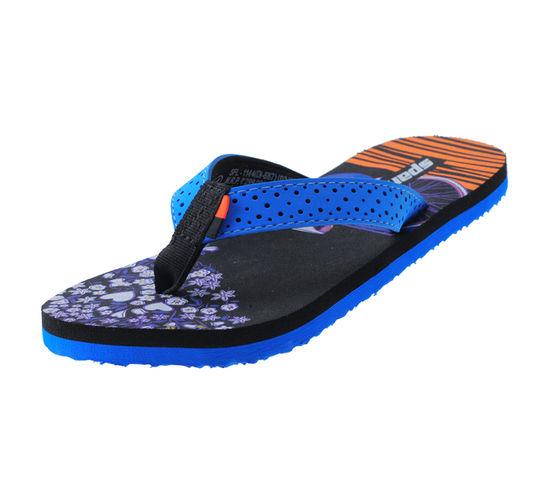 SPARX BLUE/BLACK LADIES CASUALS  SLIPPERS_SFL-1144